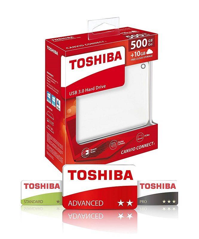 TOSHIBA CANVIO CONNECT II 2 85fc71de97