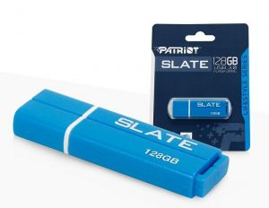 PATRIOT SLATE USB 3.0 USB KĽÚČ 128GB MODRY