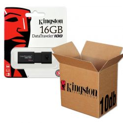 Kingston USB 3.0 DATATRAVELER 100 G3 USB KĽÚČ 16GB - 10KS/KRABICA