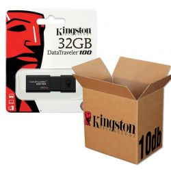 Kingston USB 3.0 DATATRAVELER 100 G3 USB KĽÚČ 32GB - 10KS/KRABICA
