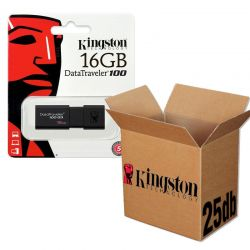 Kingston USB 3.0 DATATRAVELER 100 G3 USB KĽÚČ 16GB - 25KS/KRABICA