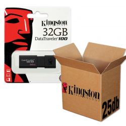 Kingston USB 3.0 DATATRAVELER 100 G3 USB KĽÚČ 32GB - 25KS/KRABICA