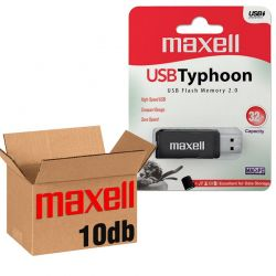 Maxell USB 2.0 TYPHOON USB KĽÚČ 32GB - 10KS/KRABICA
