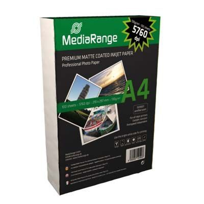 MediaRange Din A4 130g matt photo paper (100) /MRINK101/